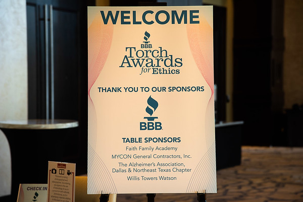 BBB Ethic's Awards 2018 event