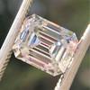 1.83ct Vintage Emerald Cut Diamond GIA F VVS2 11