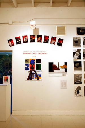 summer arts institute exhibition 2007