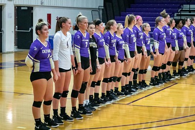 Defiance College Volleyball 09-10-2019
