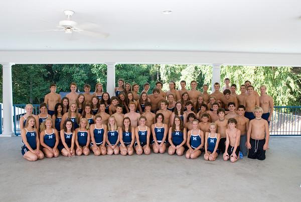JL Mann Swim Team 2010