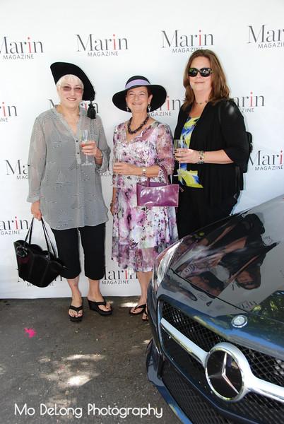 Gretchen Turner, Ann Albano and Jenica Bixler
