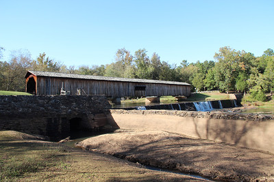 Camping - Watkins Mill Bridge State Park October 2012