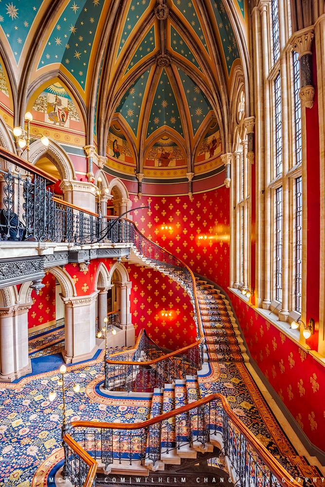 到英國攝影 倫敦最美樓梯 St Pancras Renaissance飯店 旅行攝影師 張威廉 Wilhelm Chang Photography