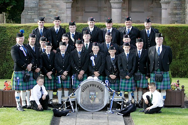 Kelso Pipe Band