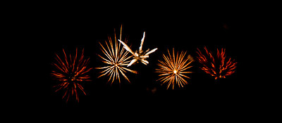 2013 Guy Fawkes Firework Art
