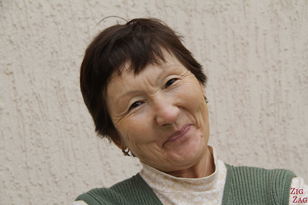 Portrait Kyrgyzstan: Tamara, Guesthouse owner