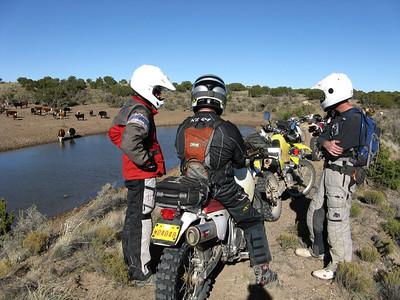 Rainbow area-Badlands Trailride  11-1-09