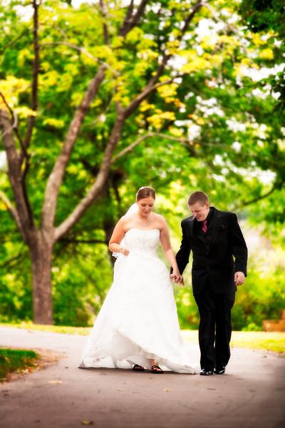 Tracy and Preston's Wedding Day