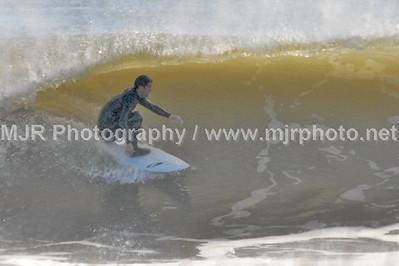 Surfing, No Name Break, NY, (11-10-06)