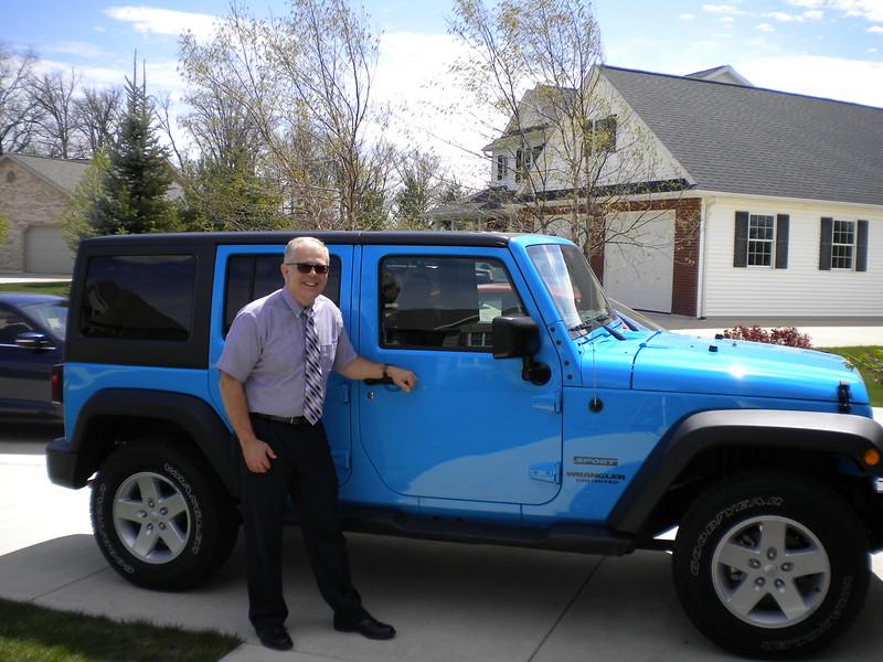 Easter 2017 - John's new Jeep Wranger