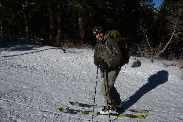 Mammoth Crest Ski Tour December 31, 2014