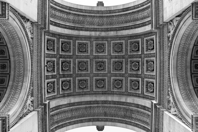L'Arc de Triomphe Paris, France — May 2009