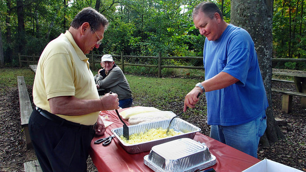 October 2012 Climbers Breakfast in the Park