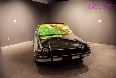 Marilyn Minter Car - MOCA Westport