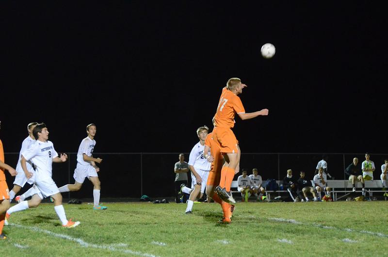 Boys Varsity Soccer September 26 vs Fallston