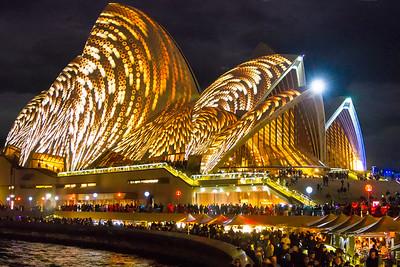 Vivid Light Sydney Saturday