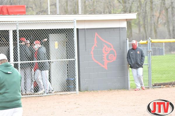 Baseball Napoleon at Michigan Center for 04-19-2021.