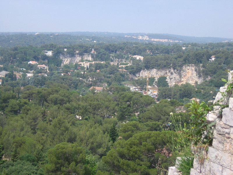 Rock quarry used to build Roman structures Location - Nimes