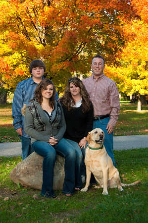 Traci Findley-Bahler and family