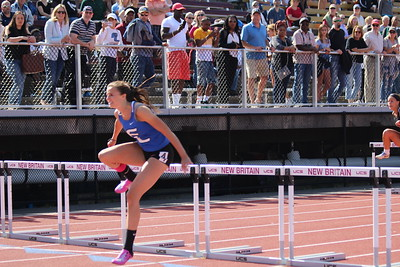 Girls 100m Hurdle Finals