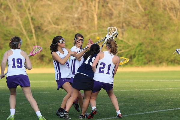 Darlington LAX girls 2011