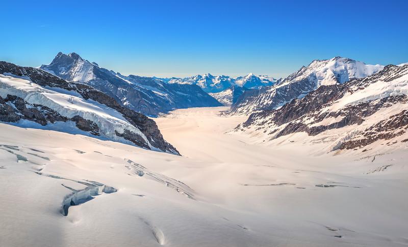Ice Fields in Switzerland