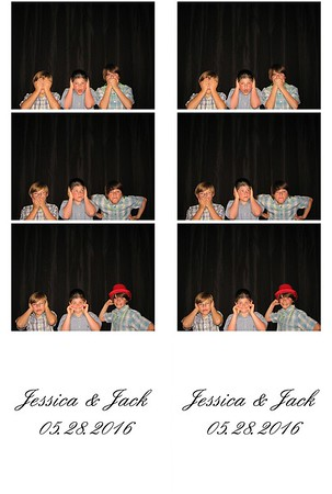 Jessica (Palsa) & Jack Turle III Photo Booth 05/28/2016