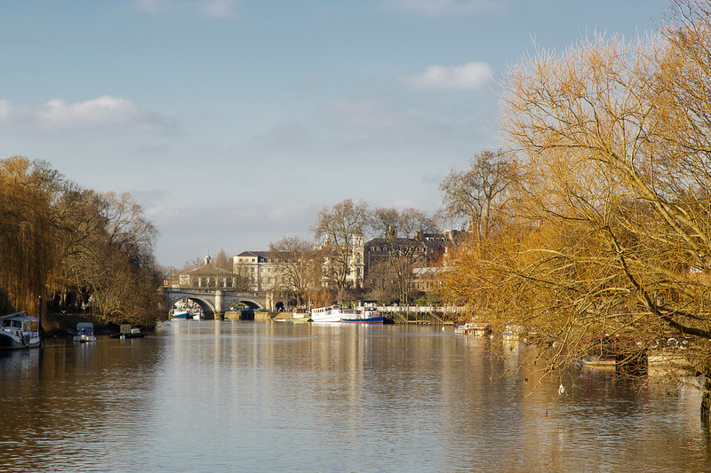 The Thames At  Richmond , London