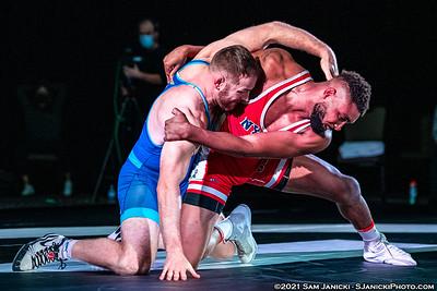 215lbs - Jackson def Michalak - FloWrestling Adeline Vs Tamyra Event - 1-9-21
