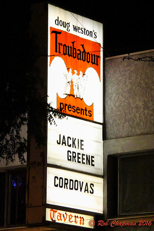 Jackie Greene & Cordovas The Troubadour West Hollywood CA 12-10-2016