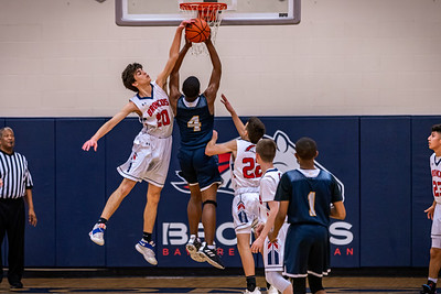 BACS Boys Varsity Basketball 01.16.20