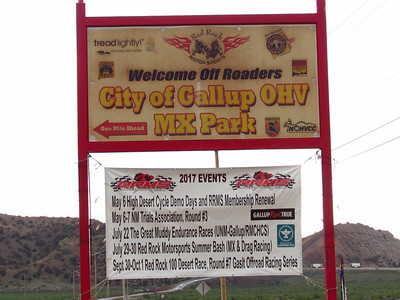 NMTA Trials Event at Gallup OHV Park  May 6-7, 2017