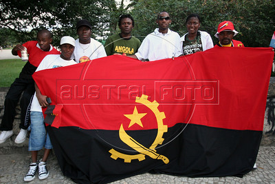 Angolan World Cup fans