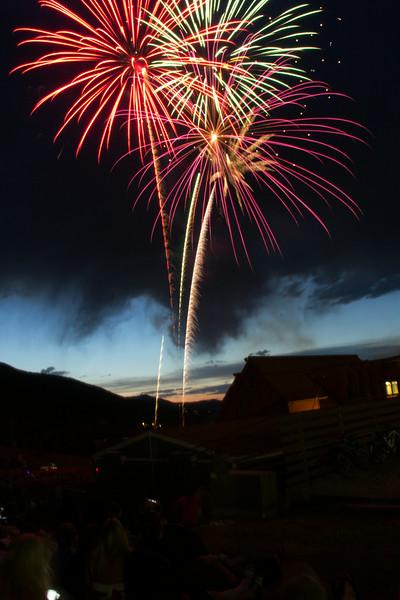Fireworks at PCMR Park City Utah 2014