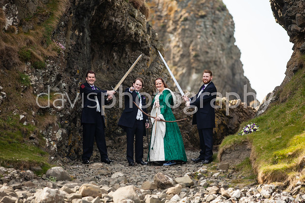 Alison + Philip Ballycastle Wedding Photography