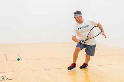 2019-09-28 Men's Singles - Open Qtrs Troy Warigon over Rich Benderoth