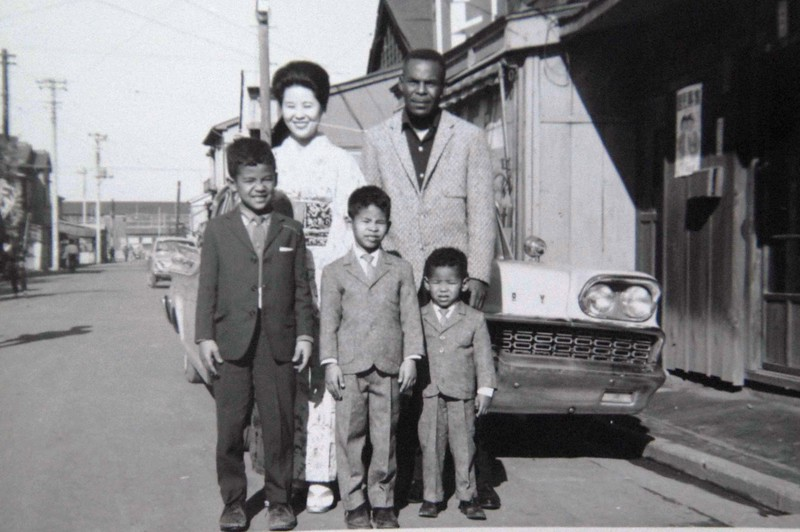 1964-67 Family picture In Japan