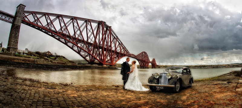 Forth Rail Bridge Wedding