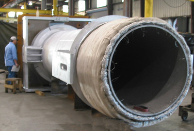 """55"""" O.D. Refractory Lined Universal Gimbal Expansion Joint (01/30/2004)"""