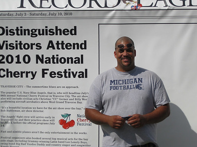 Photos from the Record-Eagle Cherry Festival Booth