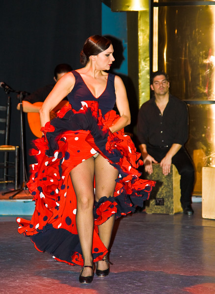 Madrid, Florida Park - Flamenco Dance - December, 2009