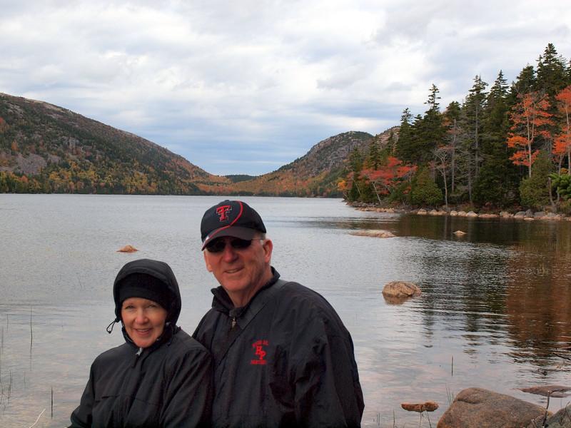 Mike & Linda - Jordan Pond, Acadia National Park