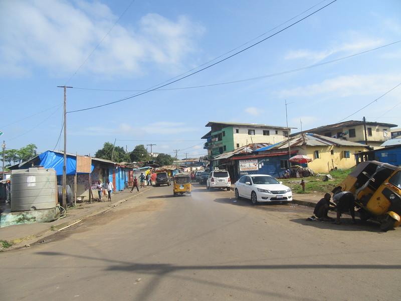 007_Monrovia. UN Drive. Longuest street in Monrovia.JPG