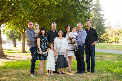 The Chambers Extended Family 2016