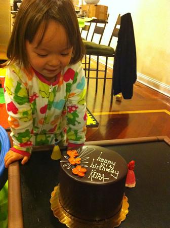 Keira turns 3!