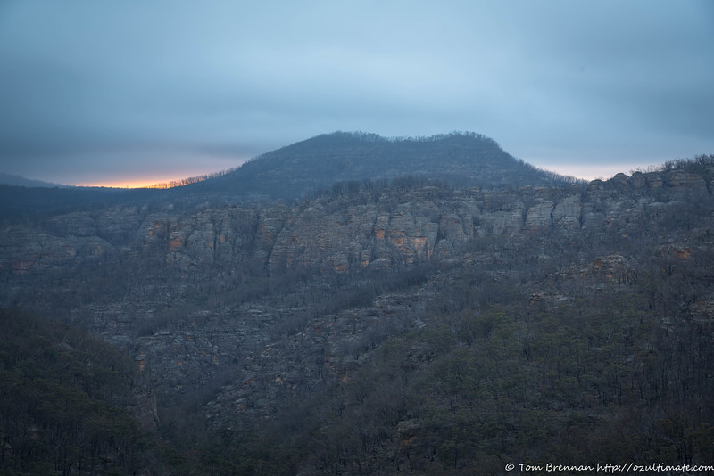 Dawn over Mt Tricky
