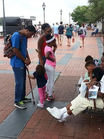 Gullah GeeChee Festival- 2016 - Artist Crafters & Entertainment Festival-River Street-Savannah, GA