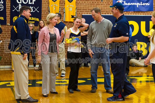 Mount Tabor Senior Night 2/10/2015
