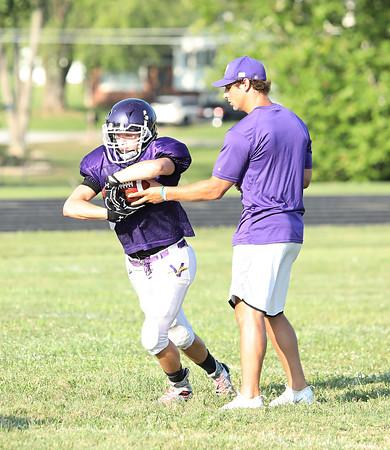 Valley Jr. High Football Practice